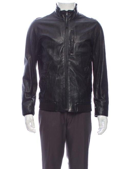 Vince Moto Jacket Black
