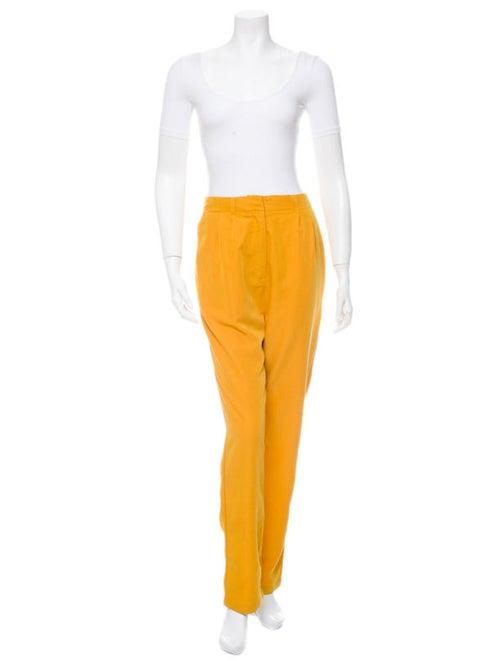 Velour Pants Yellow