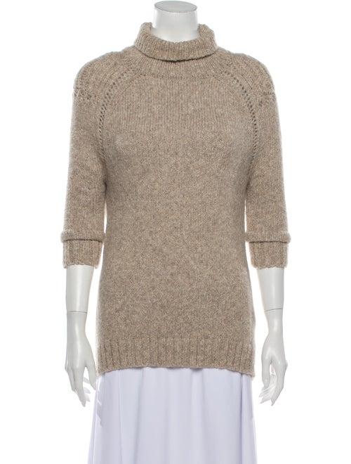 VPL Alpaca Turtleneck Sweater Brown