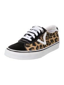 Vans x Sandy Liang Animal Print Sneakers