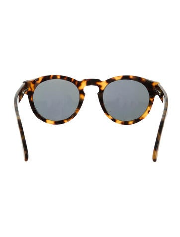 Leonard Marbled Reflective Sunglasses