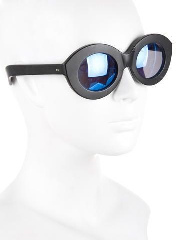 Black Mirrored Sunglasses