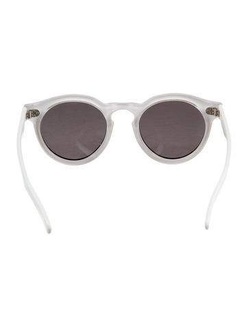 Leonard II Striped Sunglasses