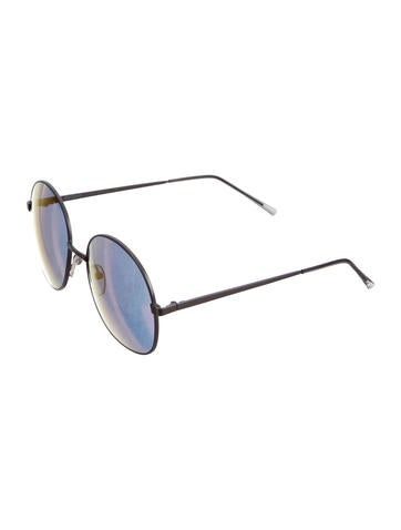 Circuar Reflective Sunglasses