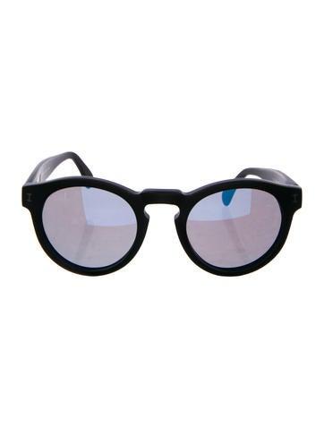 Illesteva Leonard Mirrored Sunglasses None