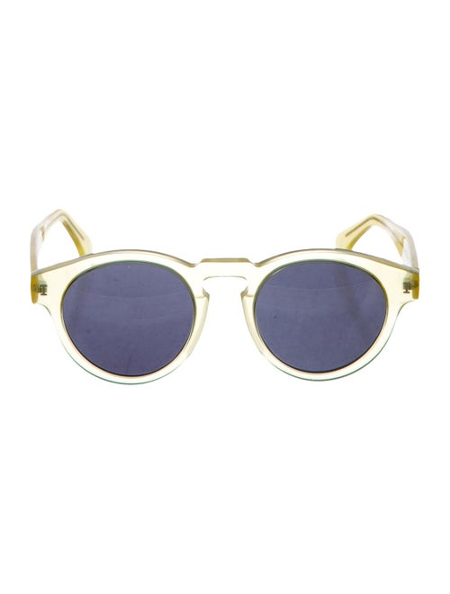 Illesteva Leonard Tinted Sunglasses Yellow