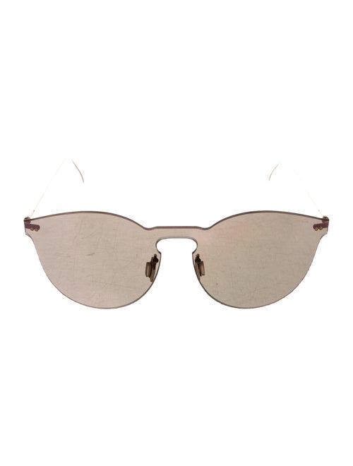 Illesteva Leonard 2 Mask Sunglasses gold