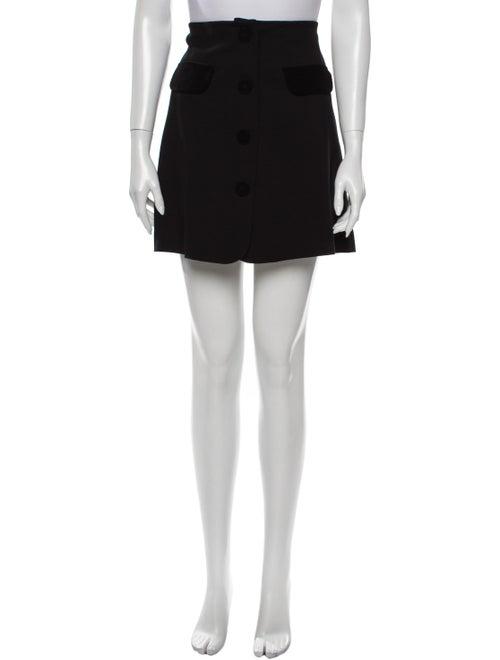 Vivetta Mini Skirt Black