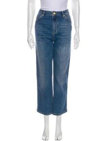 Victoria Victoria Beckham High-Rise Straight Leg Jeans w/ Tags
