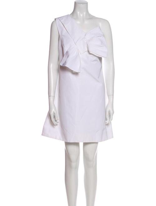 Victoria Victoria Beckham One-Shoulder Mini Dress