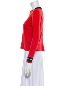Victoria Victoria Beckham Wool Crew Neck Sweater