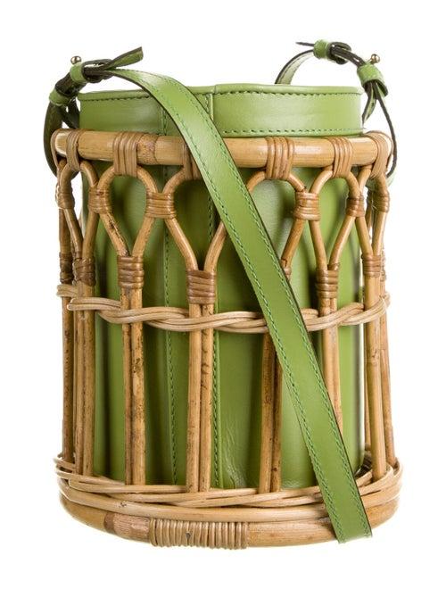 Waiwai Maloca Bucket Bag Green