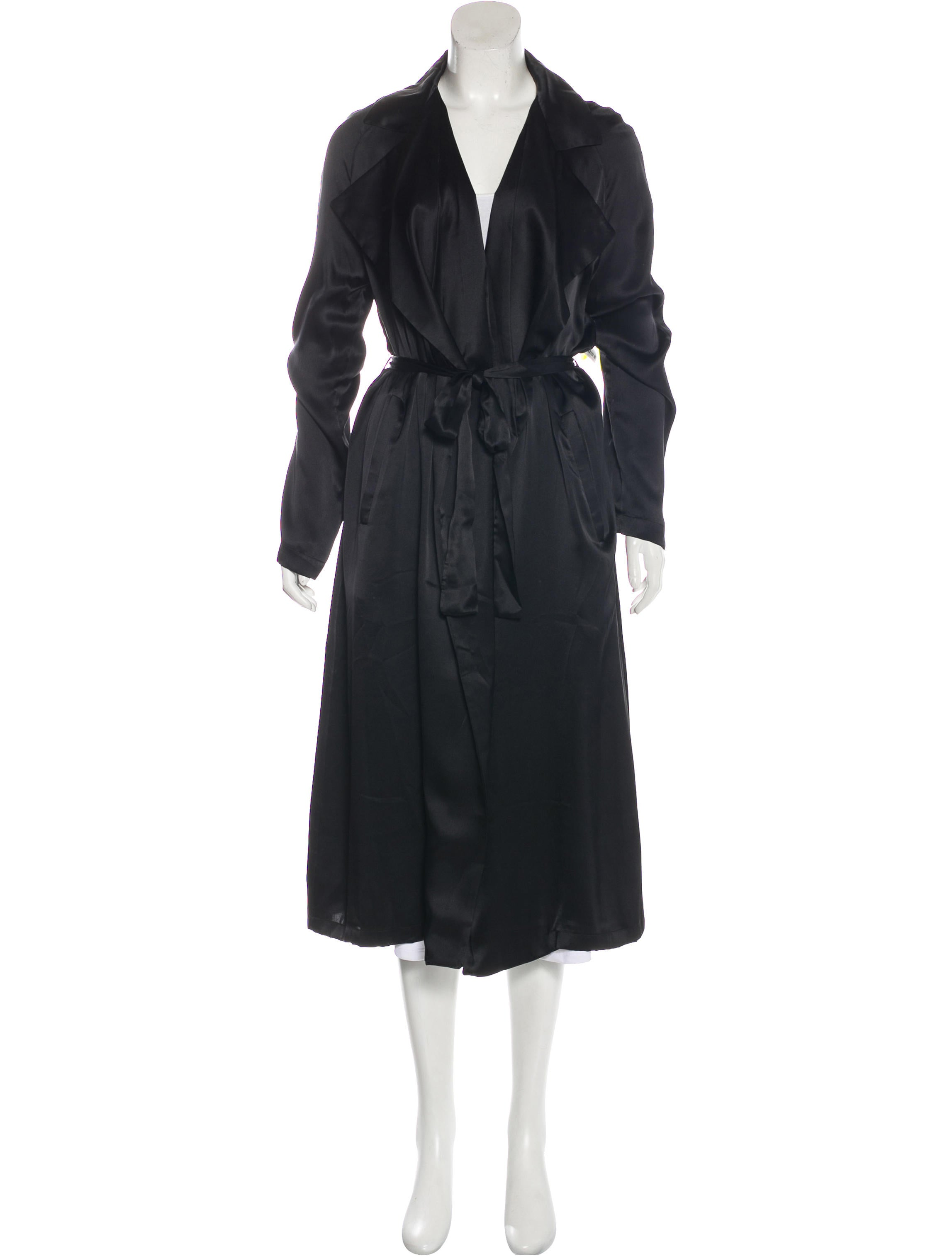 0c9ba2fcd05 we are LEONE Silk Tallulah Trench Coat w/ Tags - Clothing ...