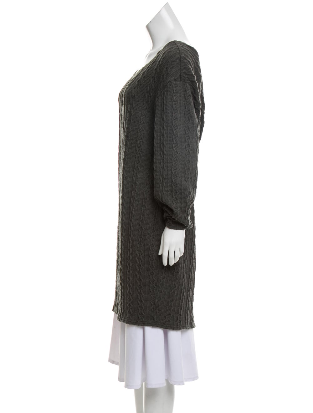 Walter Baker Cable-Knit Sweater Dress green - image 2