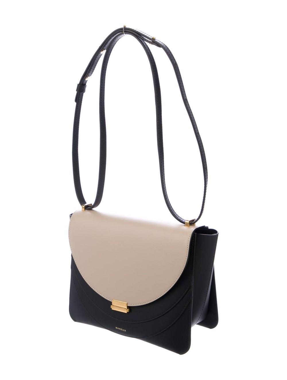 Wandler Leather Colorblock Crossbody Bag Black - image 3