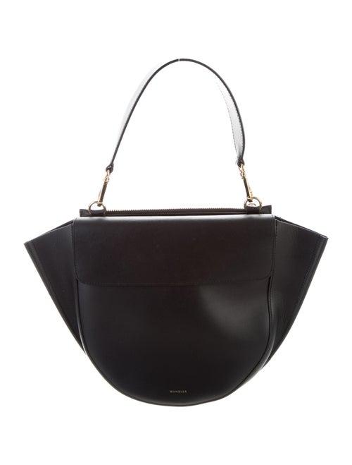 Wandler Leather Shoulder Bag Black