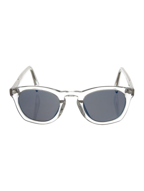 Warby Parker Topper Reflective Sunglasses Clear