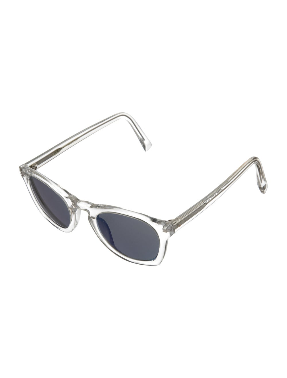 Warby Parker Topper Reflective Sunglasses Clear - image 2