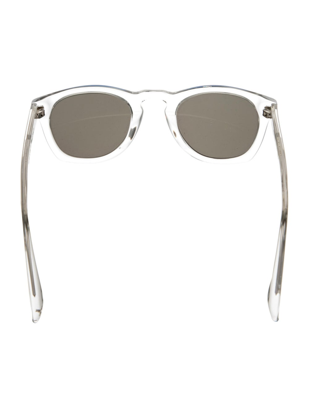 Warby Parker Topper Reflective Sunglasses Clear - image 3