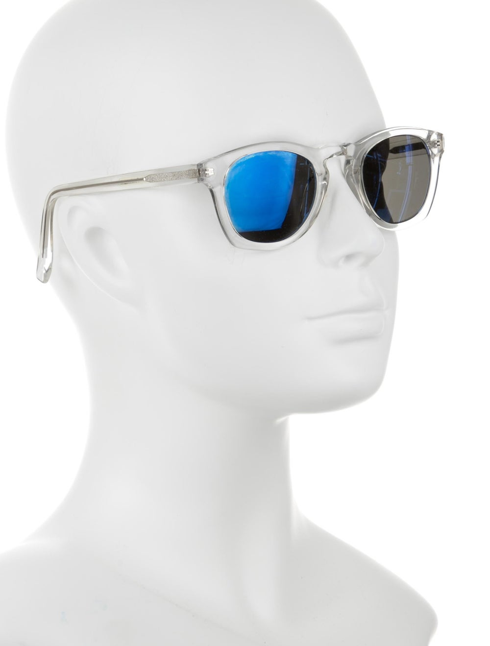 Warby Parker Topper Reflective Sunglasses Clear - image 4
