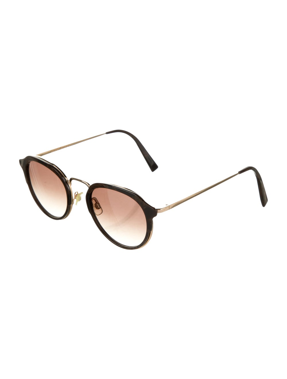 Warby Parker Tinted Round Sunglasses Gold - image 2