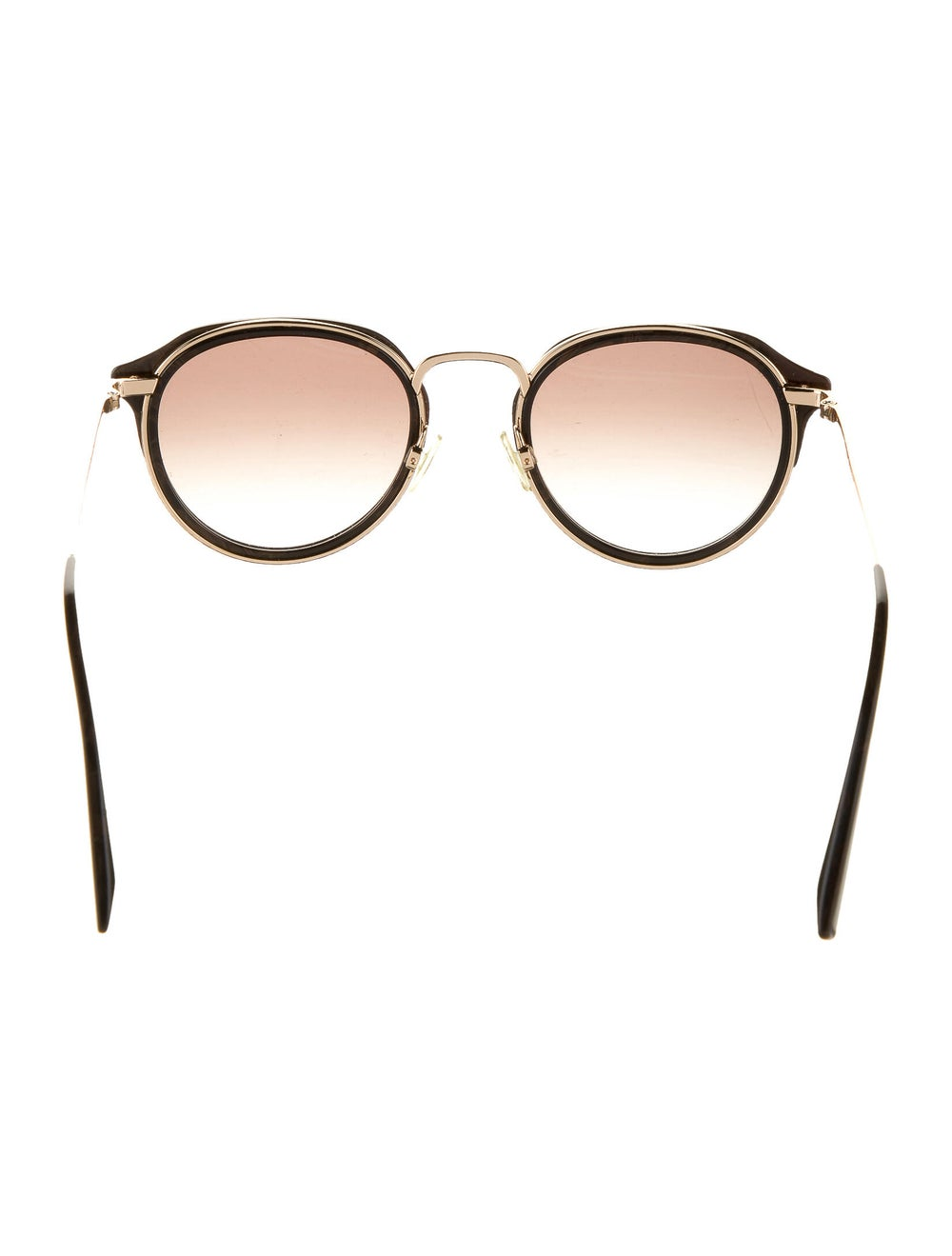 Warby Parker Tinted Round Sunglasses Gold - image 3