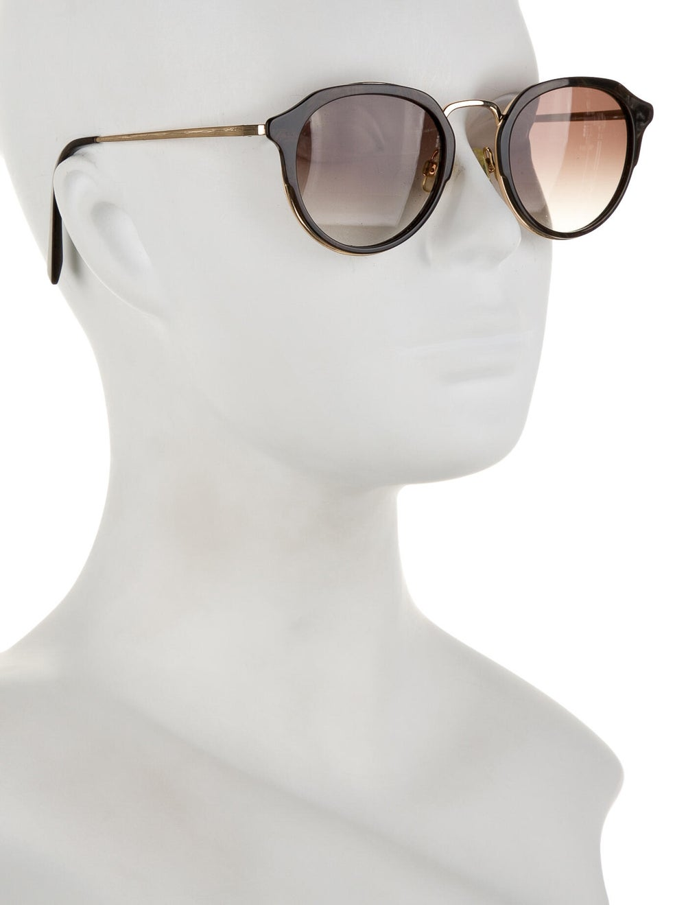 Warby Parker Tinted Round Sunglasses Gold - image 4