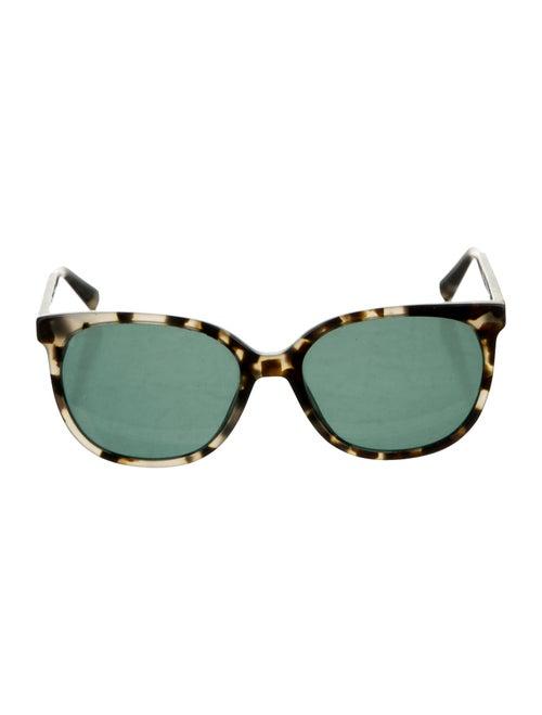 Warby Parker Tortoiseshell Wayfarer Sunglasses bl… - image 1