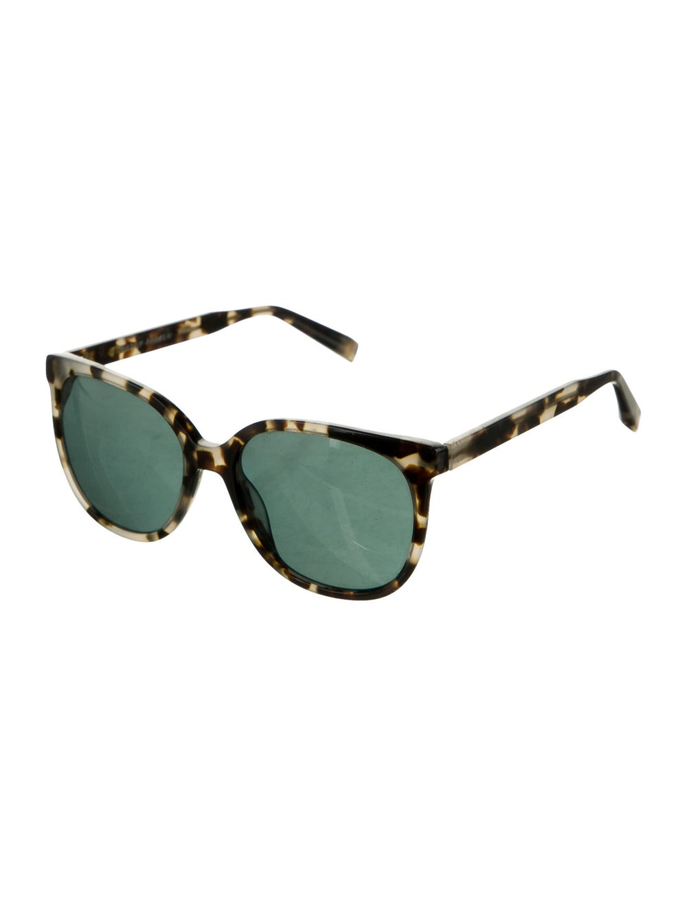 Warby Parker Tortoiseshell Wayfarer Sunglasses bl… - image 2