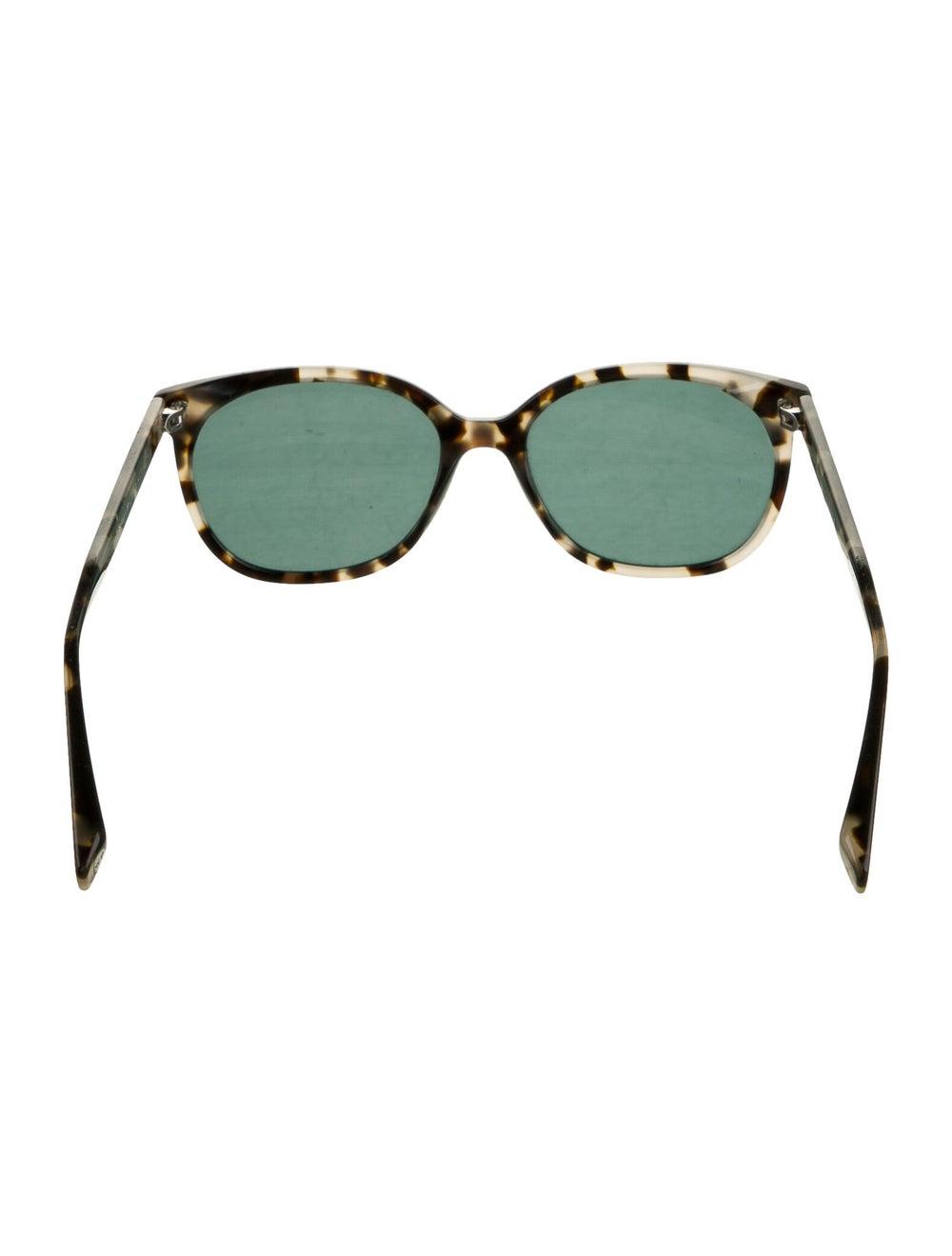 Warby Parker Tortoiseshell Wayfarer Sunglasses bl… - image 3