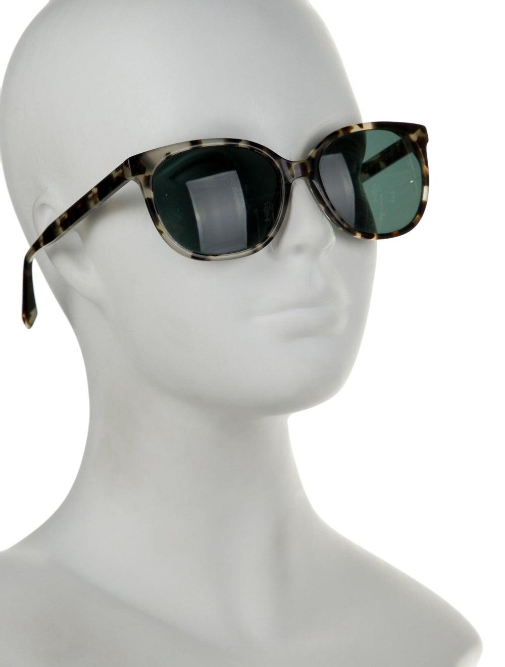 Warby Parker Tortoiseshell Wayfarer Sunglasses bl… - image 4