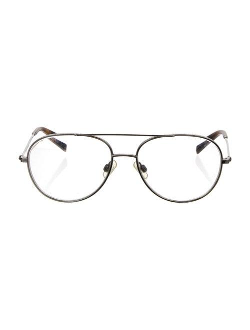 Warby Parker Aviator Eyeglasses Silver