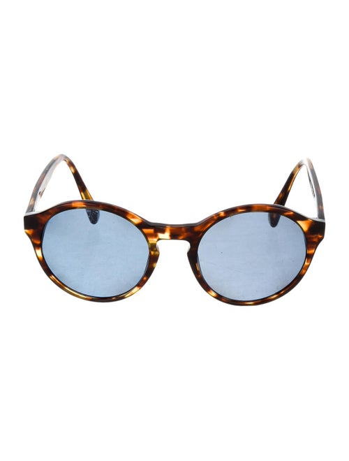 Warby Parker Round Tinted Sunglasses Brown