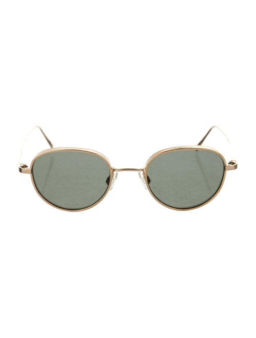 Warby Parker Round Tinted Sunglasses Gold - image 1