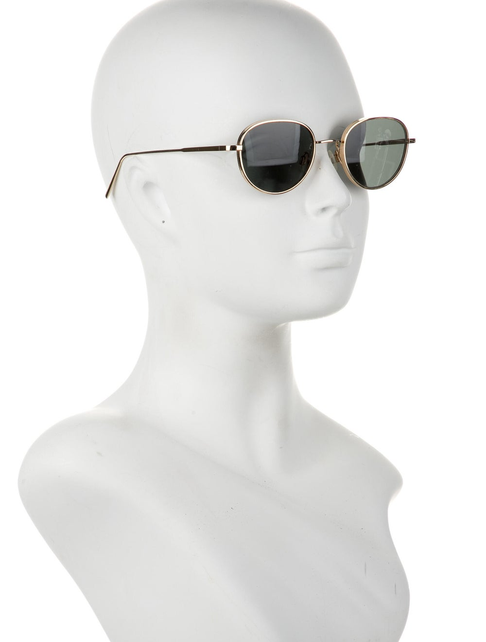 Warby Parker Round Tinted Sunglasses Gold - image 4