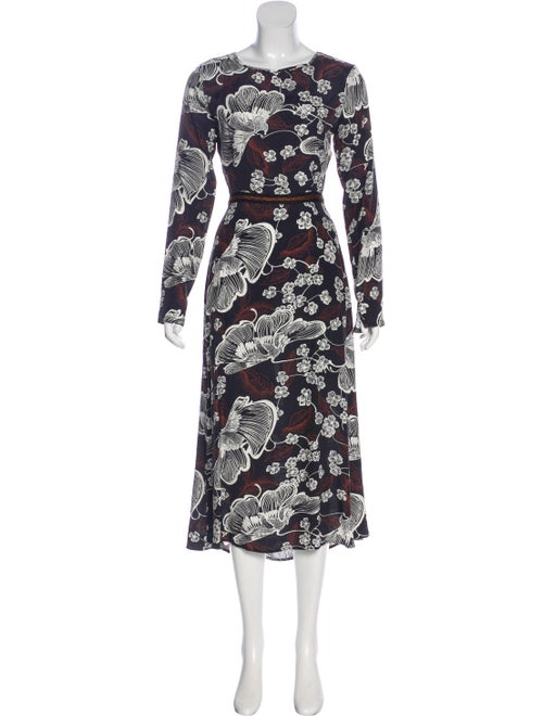 Warm Long Sleeve Maxi Dress Black