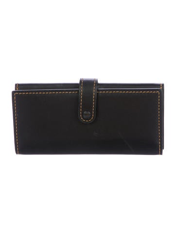 Coach 1941 Leather Fold Wallet by Coach 1941