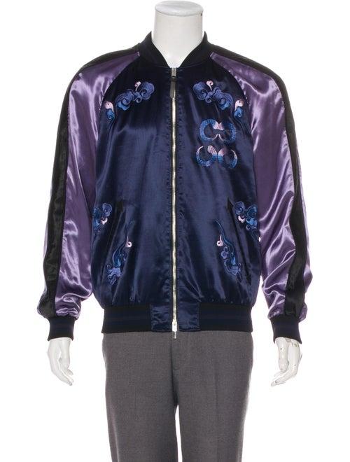 Coach 1941 Rexy Souvenir Jacket blue