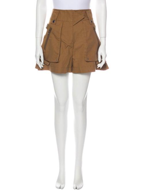 Coach 1941 Mini Shorts Brown