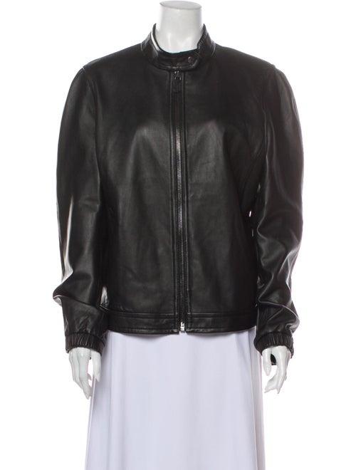 Coach 1941 Leather Jacket Black