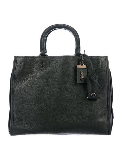 Coach 1941 Pebbled Leather Rogue Bag Green