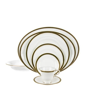 Wedgwood 43-Piece Chester Partial-Table Service None