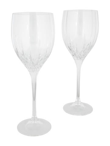 Wedgwood crystal fidelity wine glasses tabletop and kitchen wwdgd20423 the realreal - Wedgwood crystal wine glasses ...