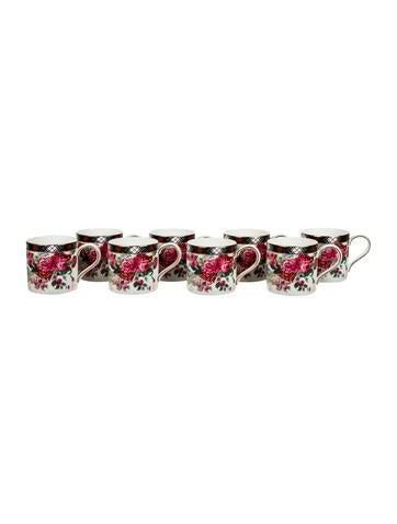 Wedgwood Ralph Lauren Hampton Floral Mugs None