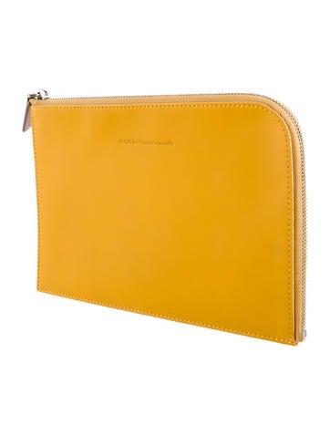 Leather Zip Portfolio