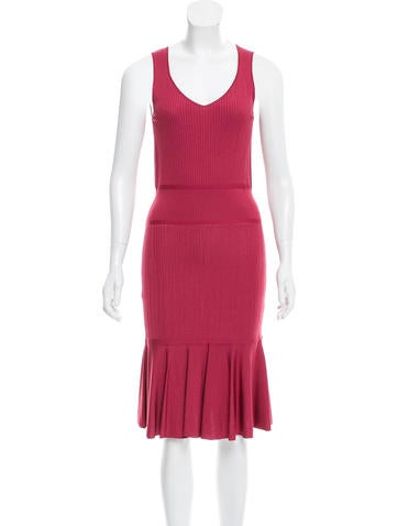 Wolford Sleeveless Midi Dress w/ Tags None