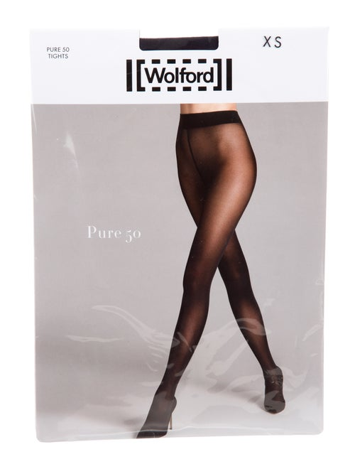 Wolford Anthracite Pure 50 Tights