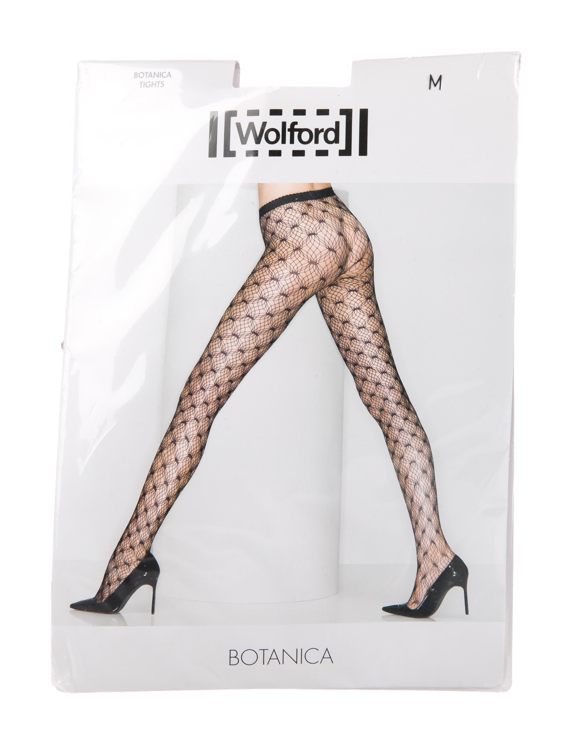 dc6bc9a9e Wolford Botanica Lace Tights w  Tags - WWF22011
