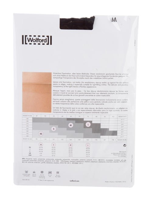 9341e7530ba Wolford Fatal 16 Seamless Tights w  Tags - Accessories - WWF22105 ...