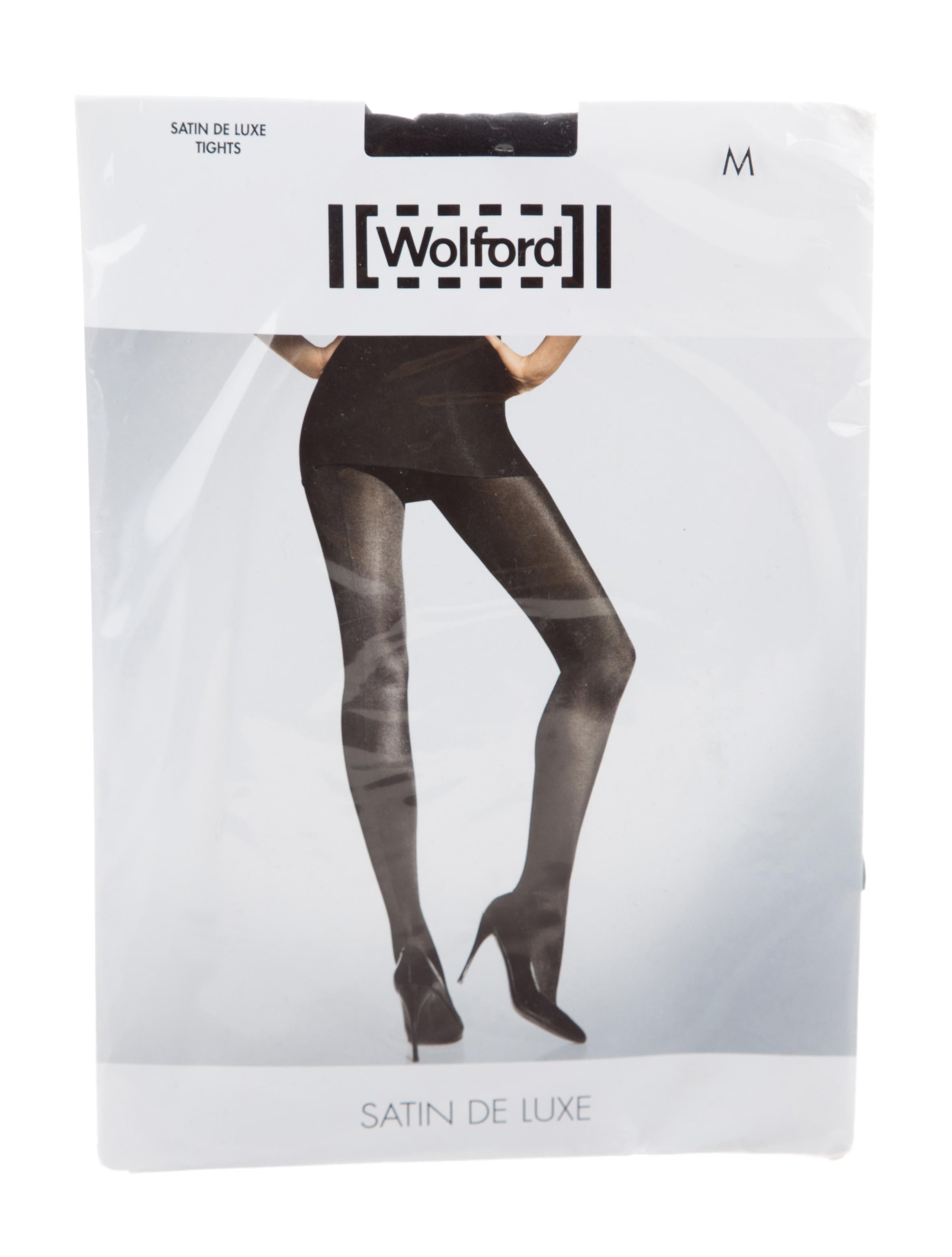 d7ae78bd340 Wolford Satin De Luxe Tights w  Tags - WWF22212